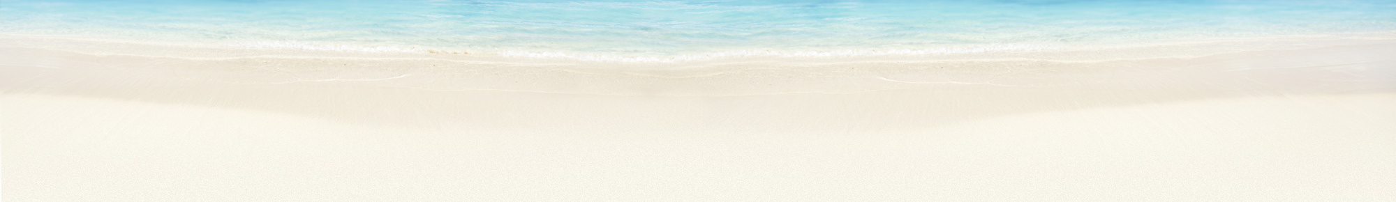 Waves on beach page header background
